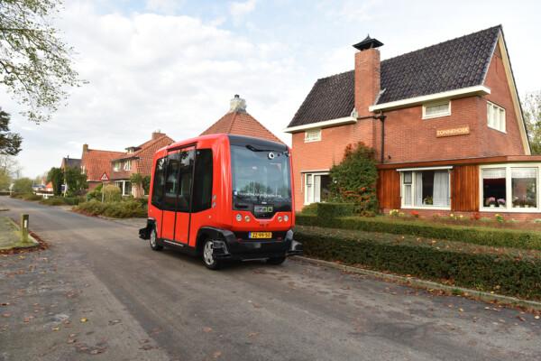 Zelfrijdende bus Loppersum - @North